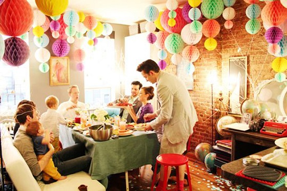 Living-Room-Party-Decoration
