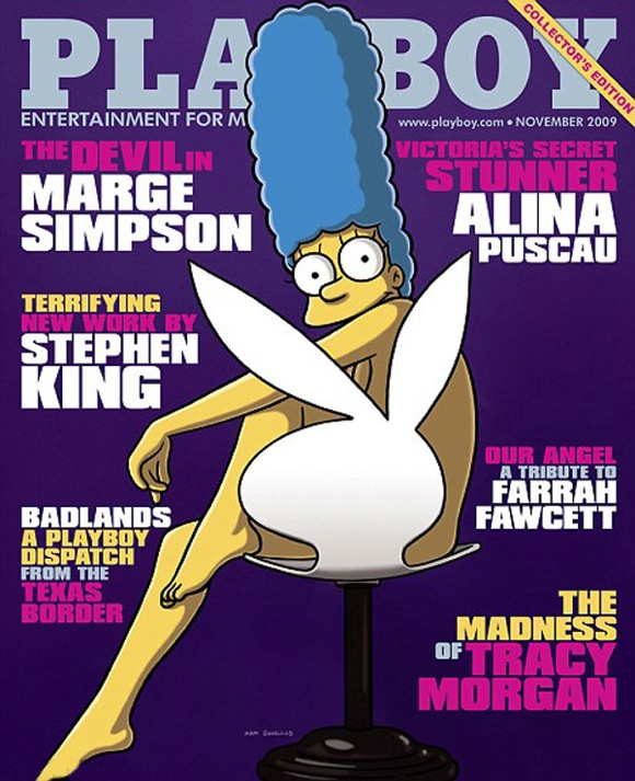 Marge-simpson-pousa-pLayboy