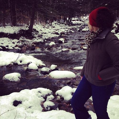 Eu em Vermont