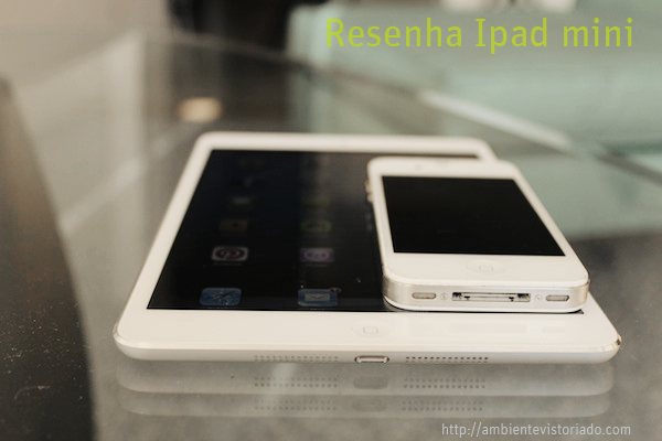 review ipad mini portugues