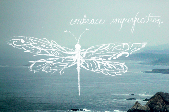 embrace imperfeições