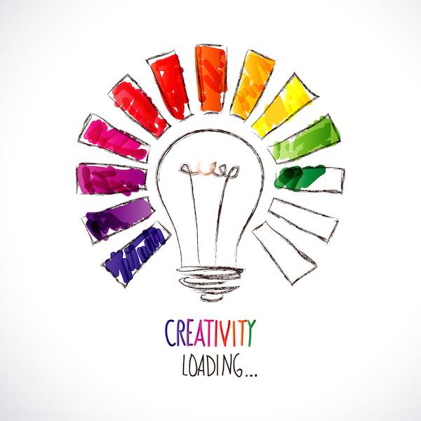 criatividade carregando